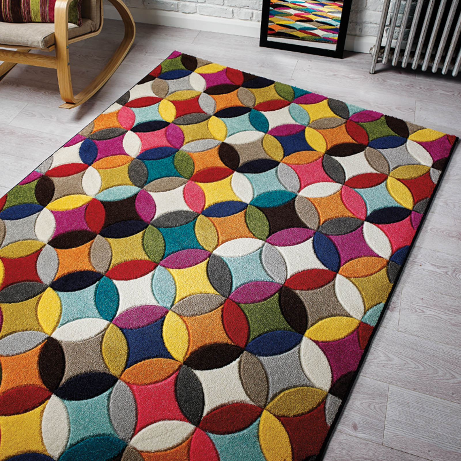 colourful rugs mambo - multi GDCYTAZ