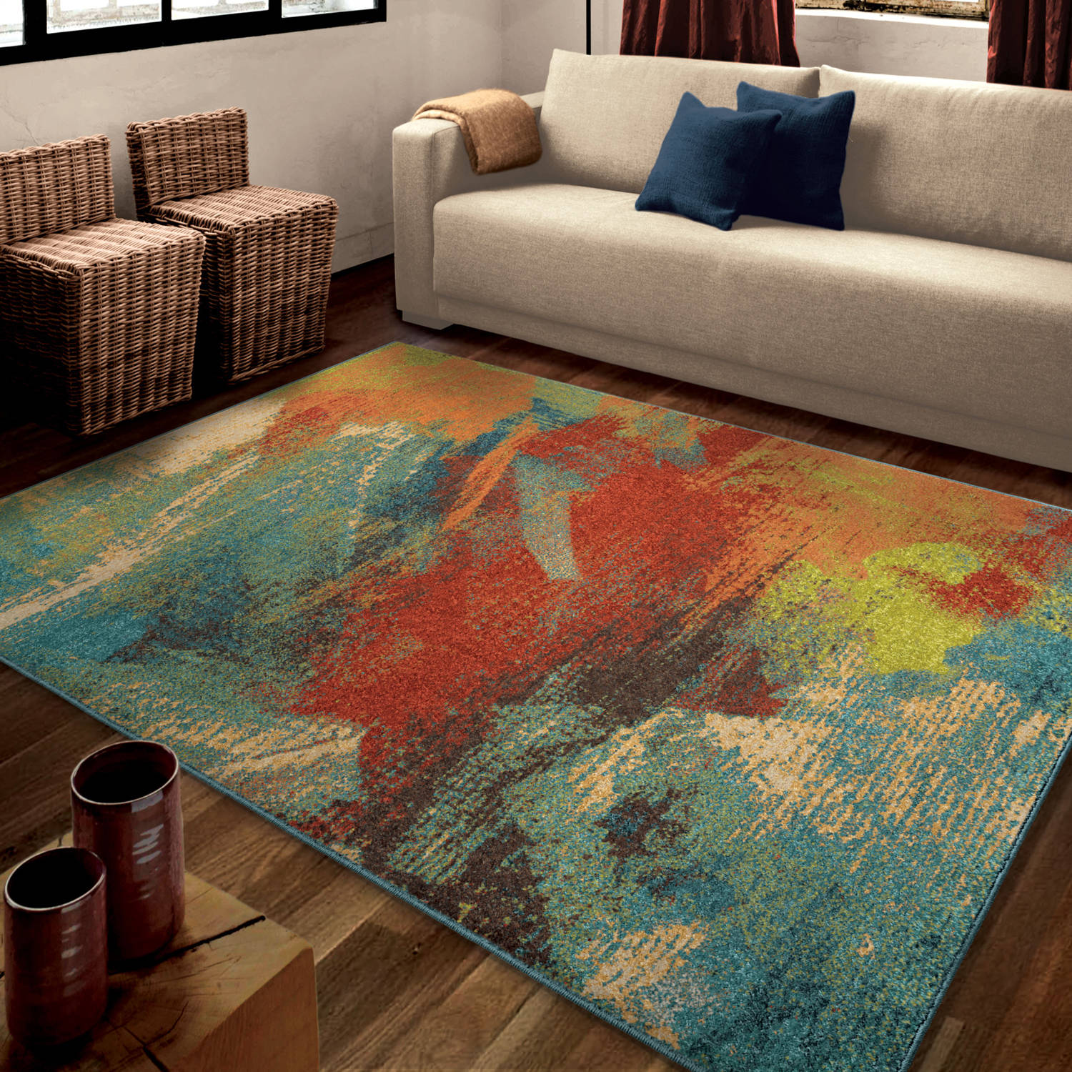 Contemporary affordable rugs affordable rugs art ULENLKE