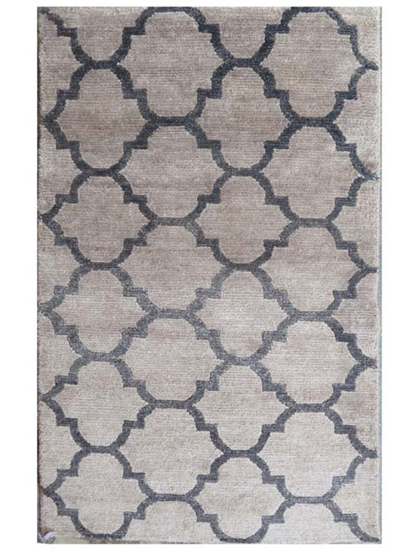 contemporary rug bamboo silk contemporary india WABUPVJ