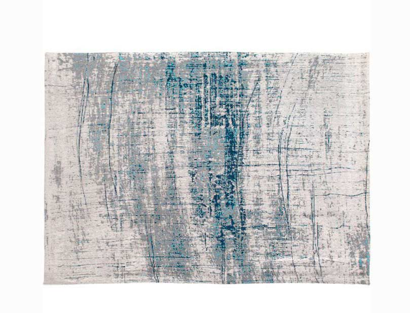 contemporary rug in blue r855tbx by natuzzi UOSCAXO