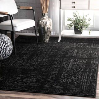 cool rugs, black rug, dorm room, loom, mobiles, area rugs, outlet store, ZARIMNL