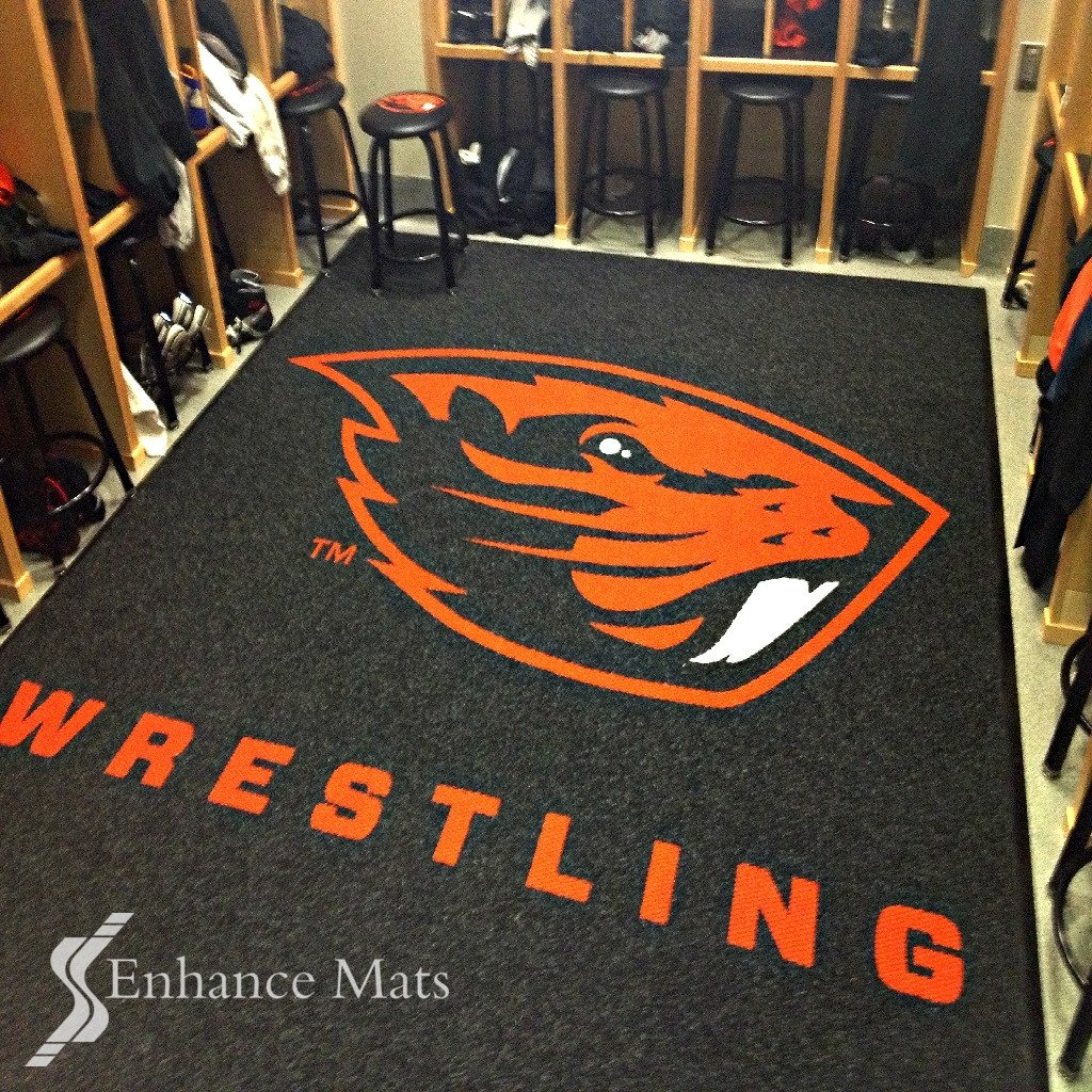 custom carpet logo locker room carpet / mats EEROHPC
