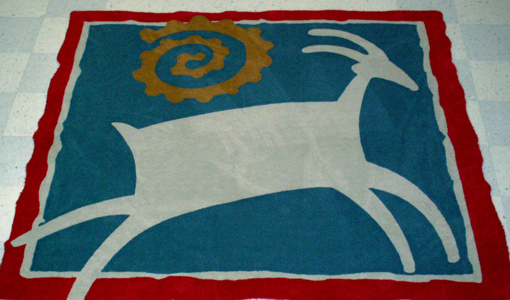 custom rug ... southwest  OGAGLGA