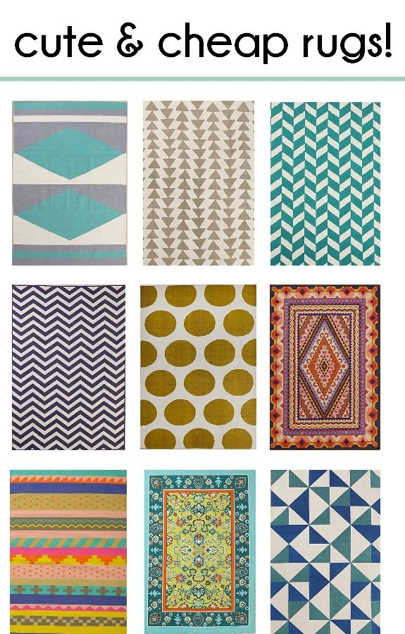 Cute rugs we all know that a rug will completely make or break a room. KCFIEJF
