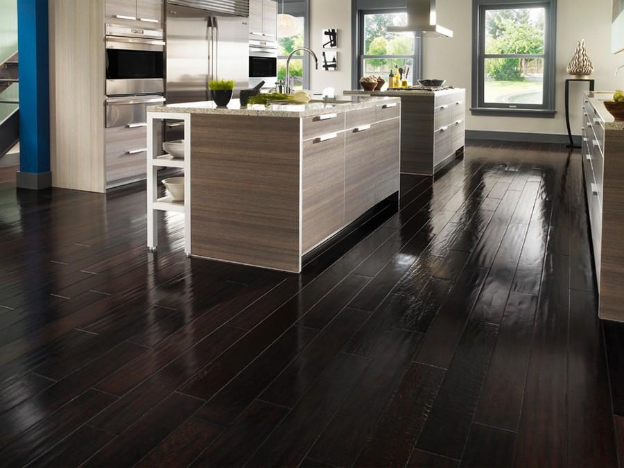 dark wood laminate flooring impressive on laminate wood flooring in kitchen wood laminate flooring in  kitchen FBDYCOP