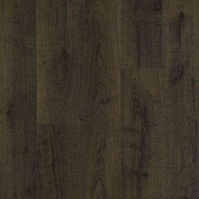 dark wood laminate flooring outlast+ vintage tobacco oak 10 mm thick x 7-1/2 in. wide CQSCTDU