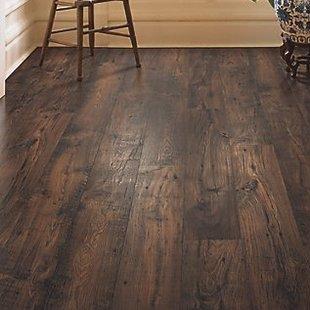 dark wood laminate flooring rugged vision 7.5 WRNMYAT