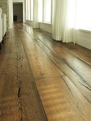 decor of rustic wide plank flooring reclaimed oak woodwrights regarding  floors decorations WUCEFDI