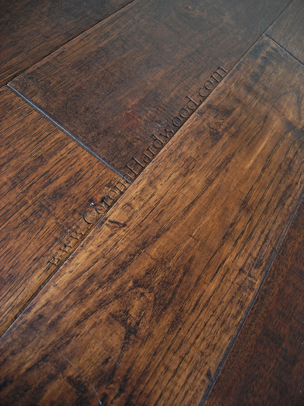 distressed hardwood flooring oasis flooring hickory ebony distressed, express collection , d5-e13 HCWDQQT