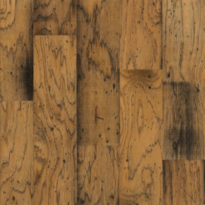 distressed wood flooring hickory engineered hardwood - antique natural GBXYJMK