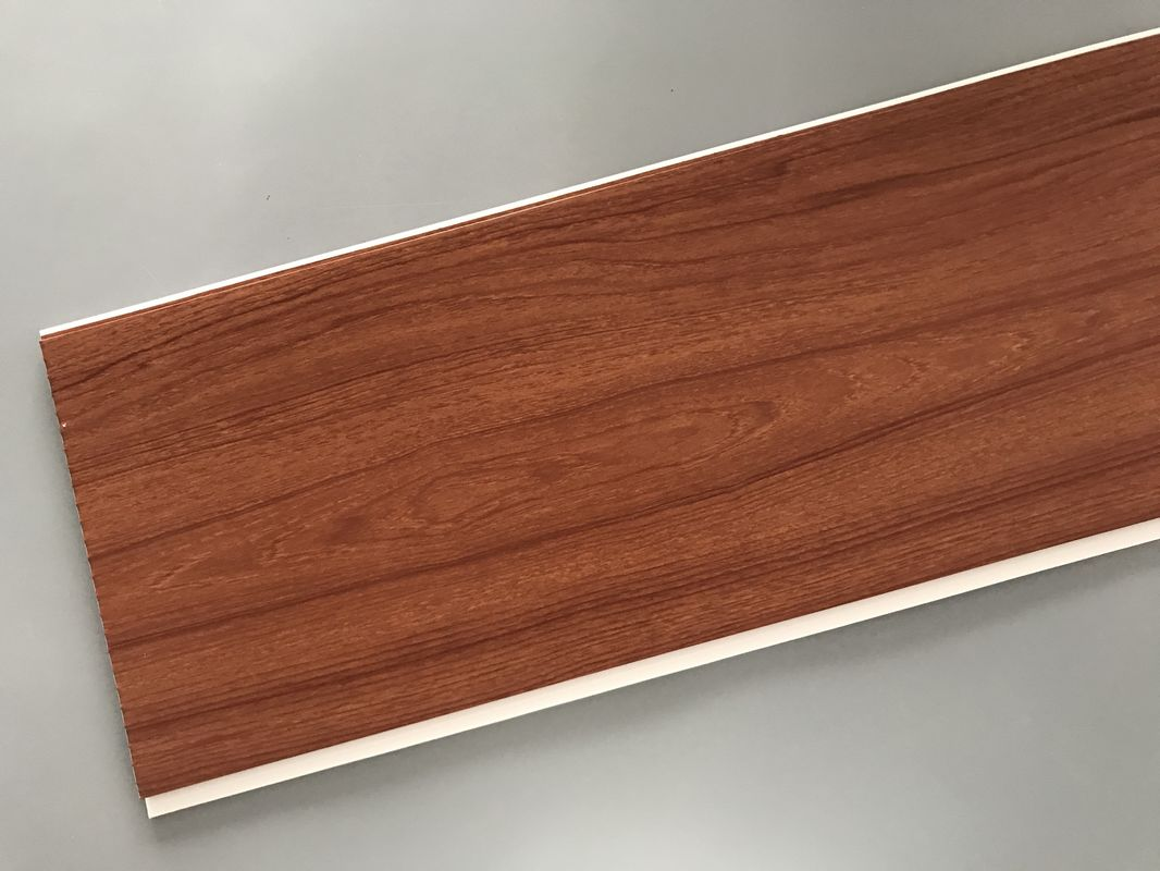 eco friendly pvc wood plastic laminate panels flat shape 250 × 8mm × MUUMRCO