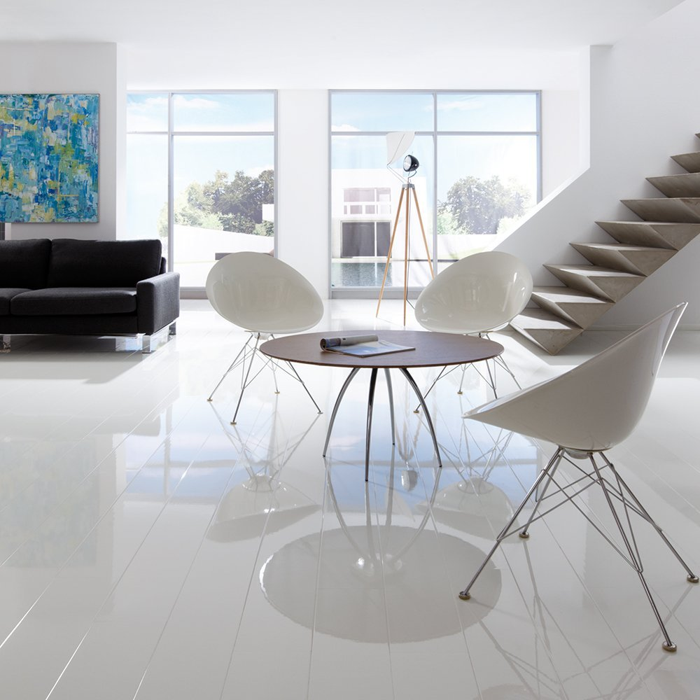 elesgo super gloss white is another high gloss laminate flooring. UUYJNTH