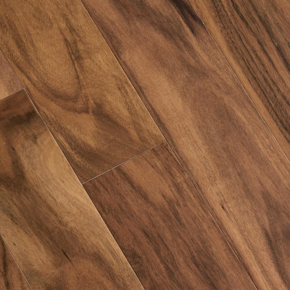 Engineered floor matte natural acacia 3/8 in. thick x 5 in. wide x varying KYHQRSB
