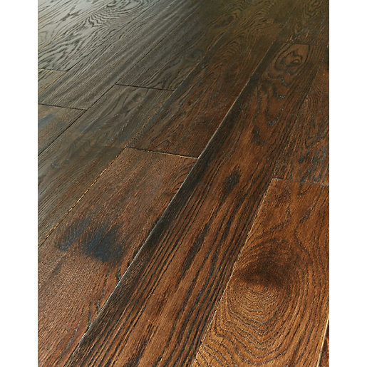 Engineered floor wickes gunstock oak real wood top layer engineered wood flooring YWAHZTU