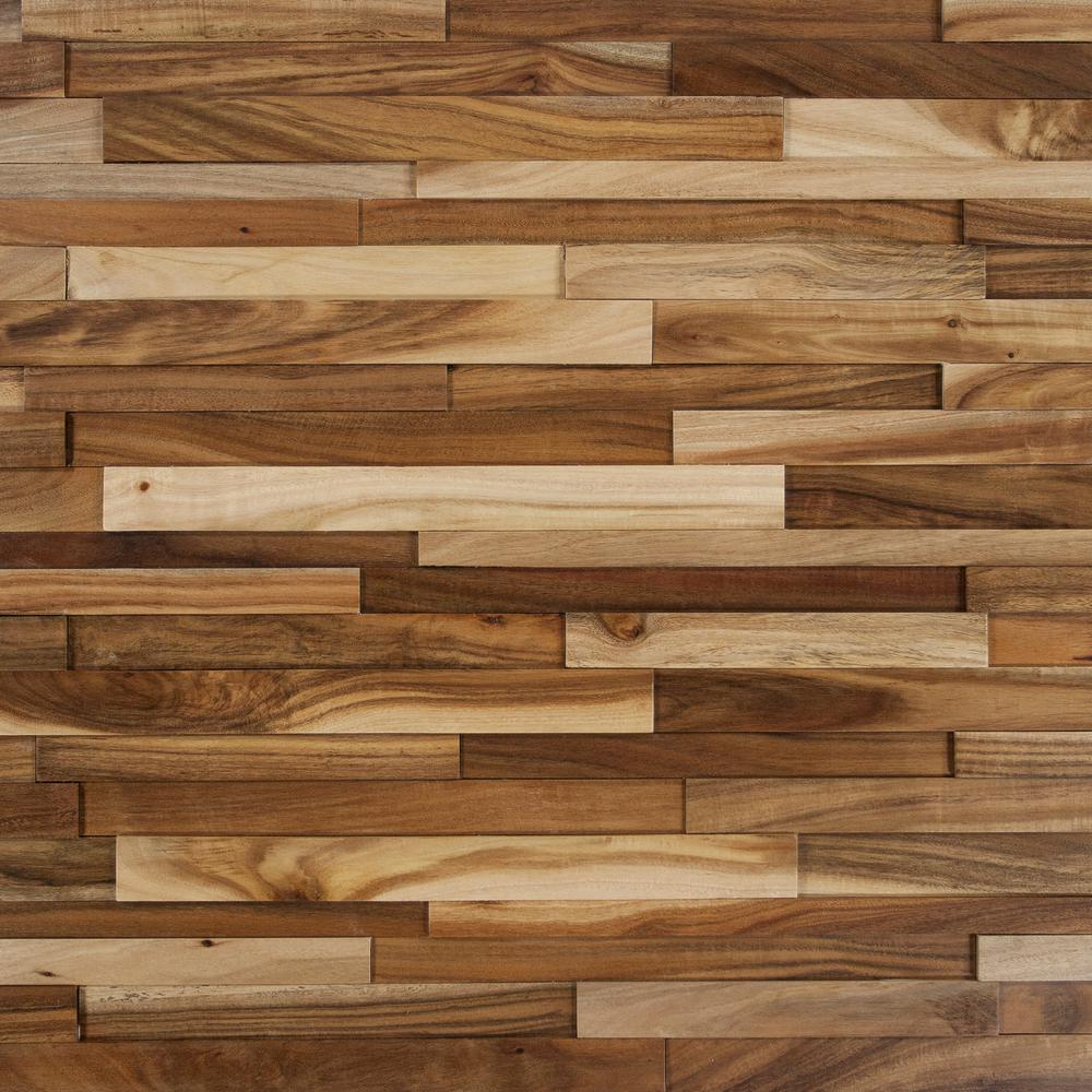 exotic hardwood flooring take home sample - deco strips wheat engineered hardwood wall strips - 5 FCLXVKW