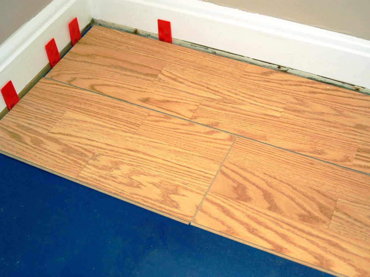 Floating laminate floor step 8 BSLXYOC