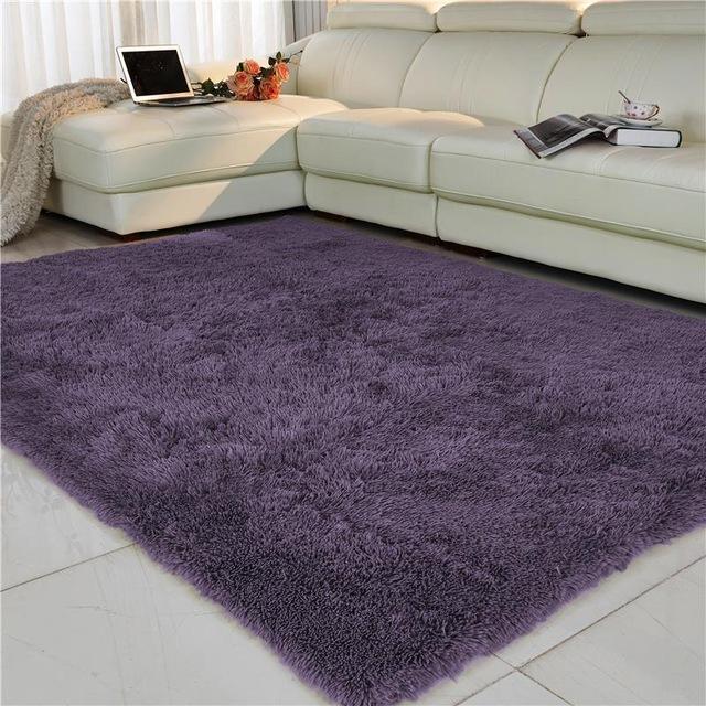floor carpet free shipping anti-slip 80x120cm thick large floor carpets for living room  modern GAUYIFF