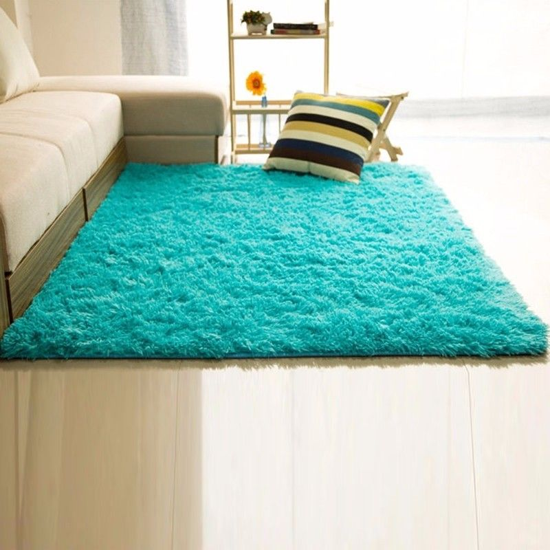 Floor rug shaggy-fluffy-rugs-anti-skid-area-rug-dining- CTDCGPZ