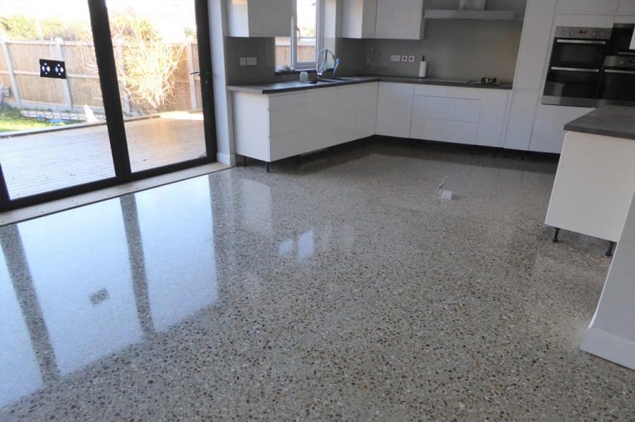 flooring concrete polished concrete floors kitchen GRNACPL