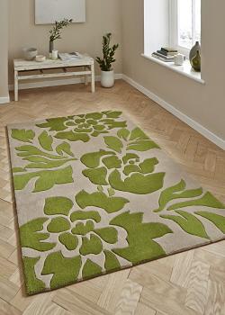 green/olive green/lime green rugs OCFVDUW