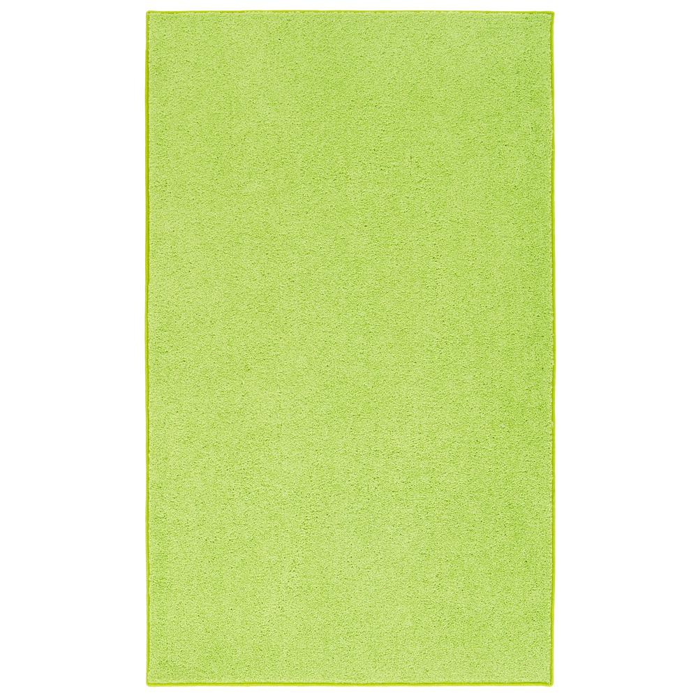 green rugs ourspace lime green 4 ft. x 6 ft. bright area rug EHNFMVS