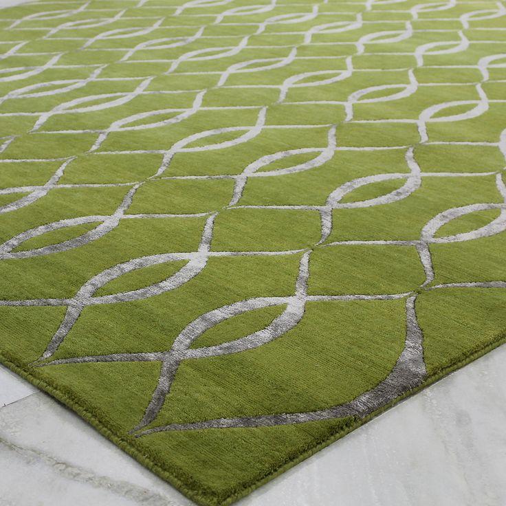green rugs versailles is a versatile yet classy green rug range featuring two tone OCTJMJA