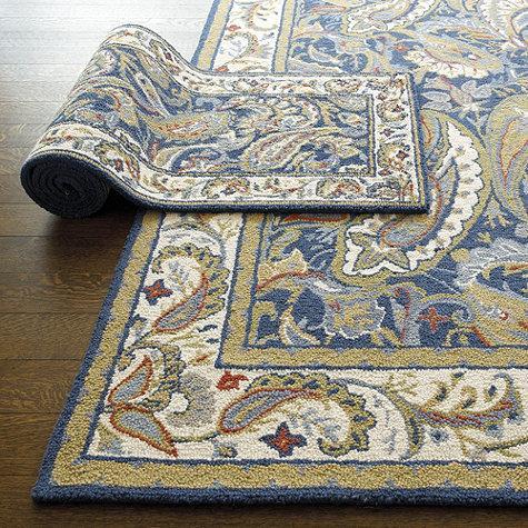 hand hooked rugs abby hand hooked rug | ballard designs AQLQZZT