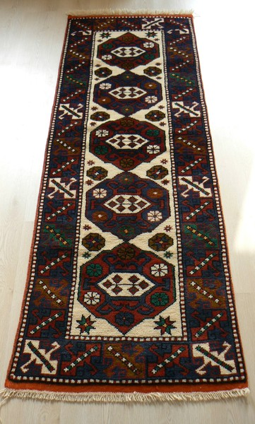 handmade rug turkish, ayvacik, vegetable dye handmade runner rug - vegetable dyed  turkish handmade VAVRKRE