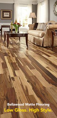 Hard flooring bellawood matte hardwood flooring WMERVRG