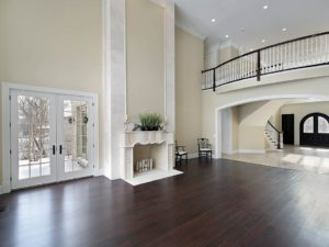 hardwood floor colors dark hardwood floors - ebony and jacobean BVBVMZZ
