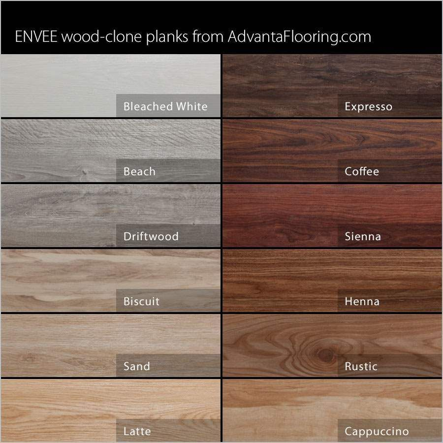 hardwood floor colors minwax stain chart | advanta envee loose lay wood planks - garage flooring KHBQFYS