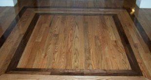 hardwood floor designs with specialty design element | arthub SQVMSUV