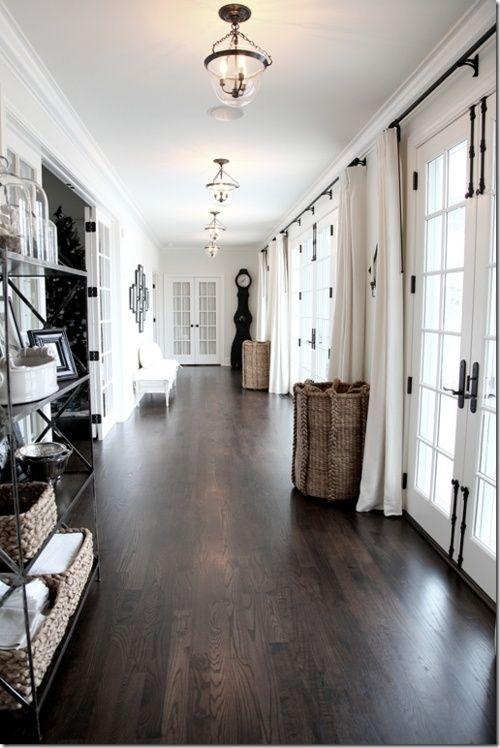 hardwood flooring ideas dark hardwood floors for an entryway to make it look luxurious DNMEHGZ
