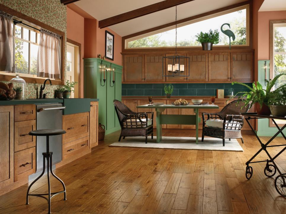 hardwood floors in kitchen eco-friendly engineered hardwood SSPRFFK