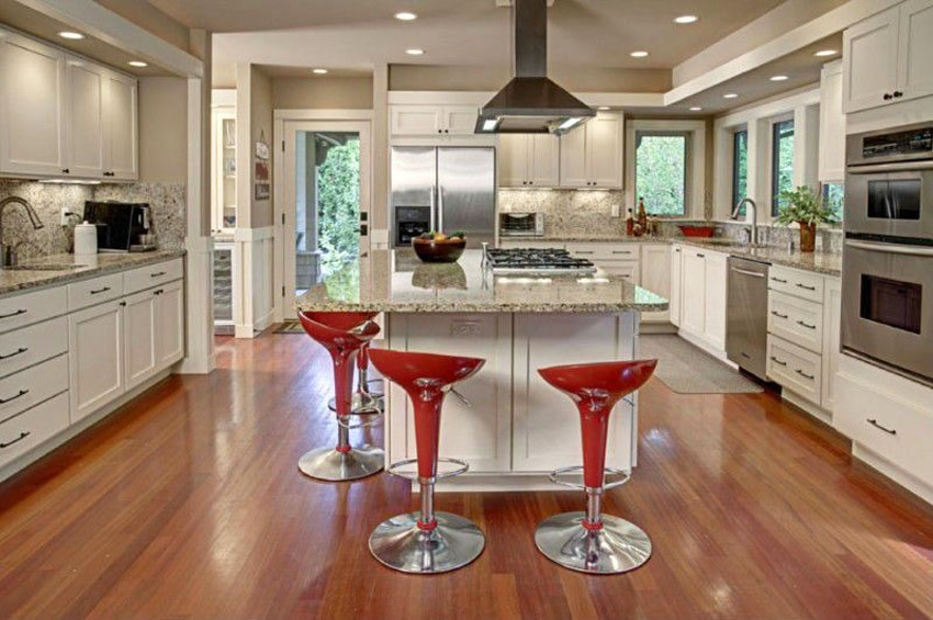 hardwood floors in kitchen hardwood flooring in the kitchen pros and cons home fatare wood floors in DVMOVBI