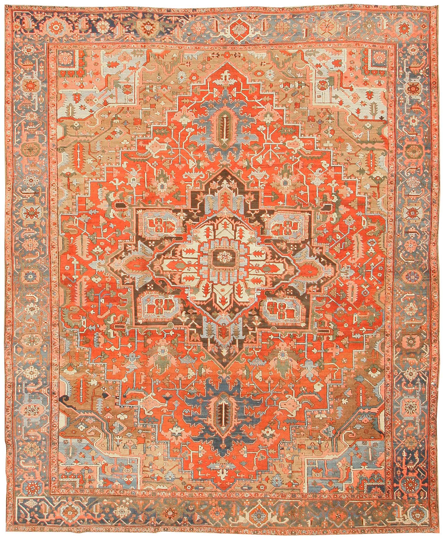 heriz rugs antique heriz persian rugs 43346 by nazmiyal AQCKAHL