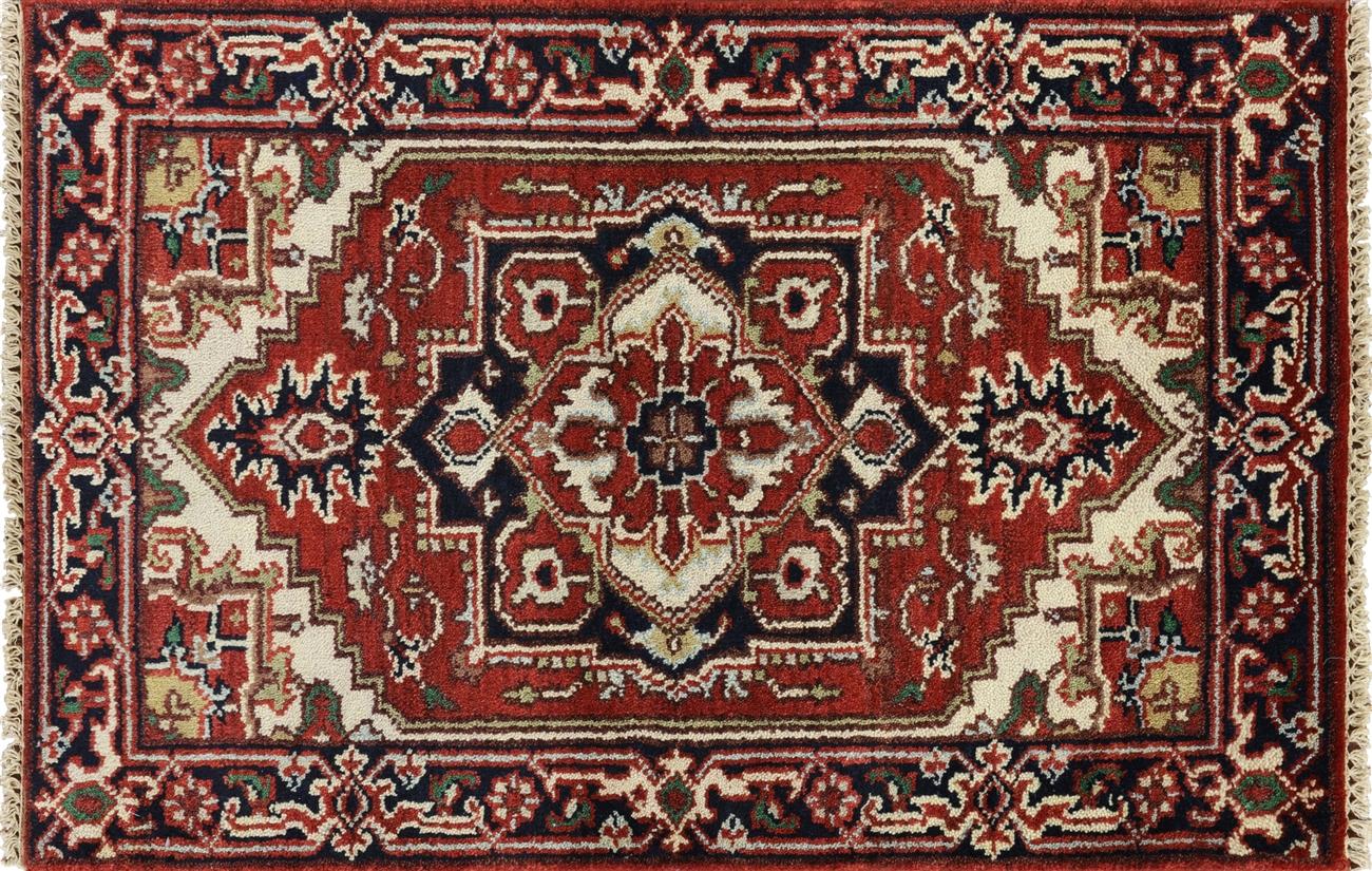 heriz rugs hand knotted heriz rug 3 x 4 - p1801 ZCXEZUF