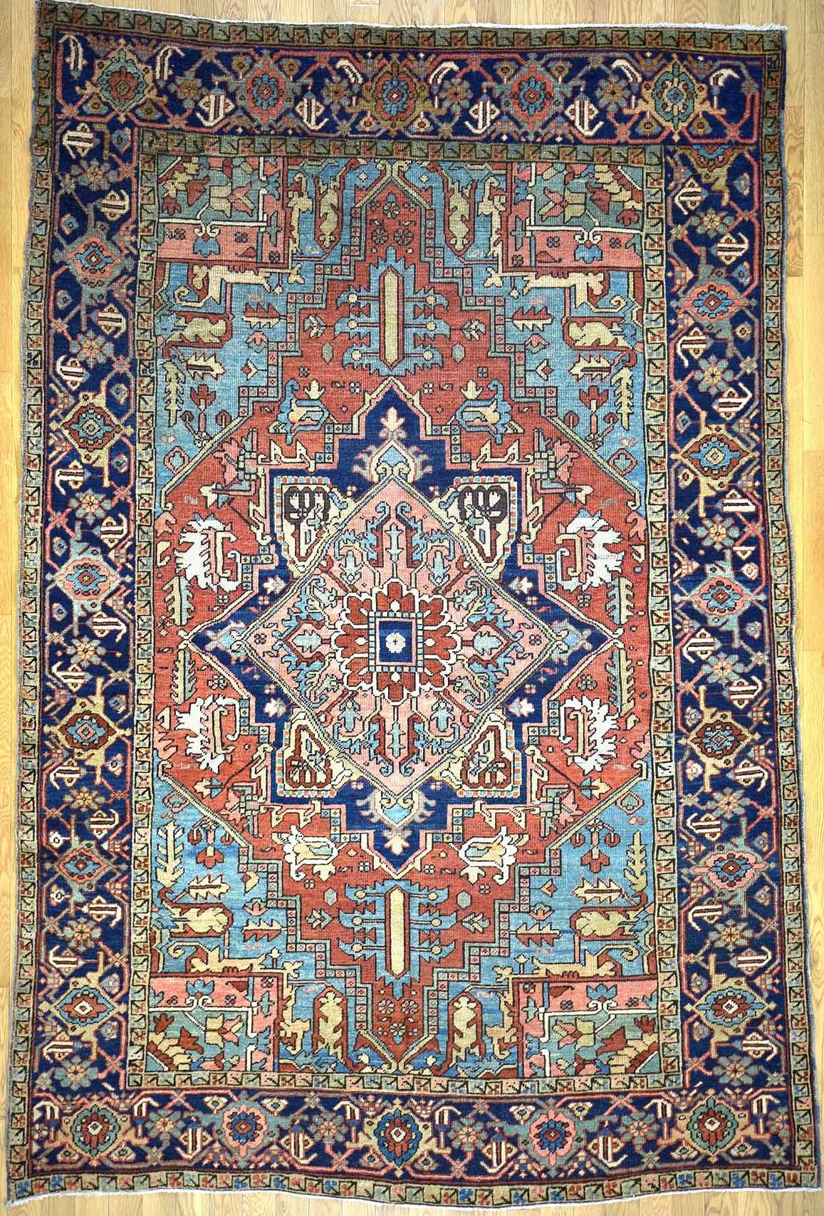 heriz rugs heriz persian rug KSBEVBJ