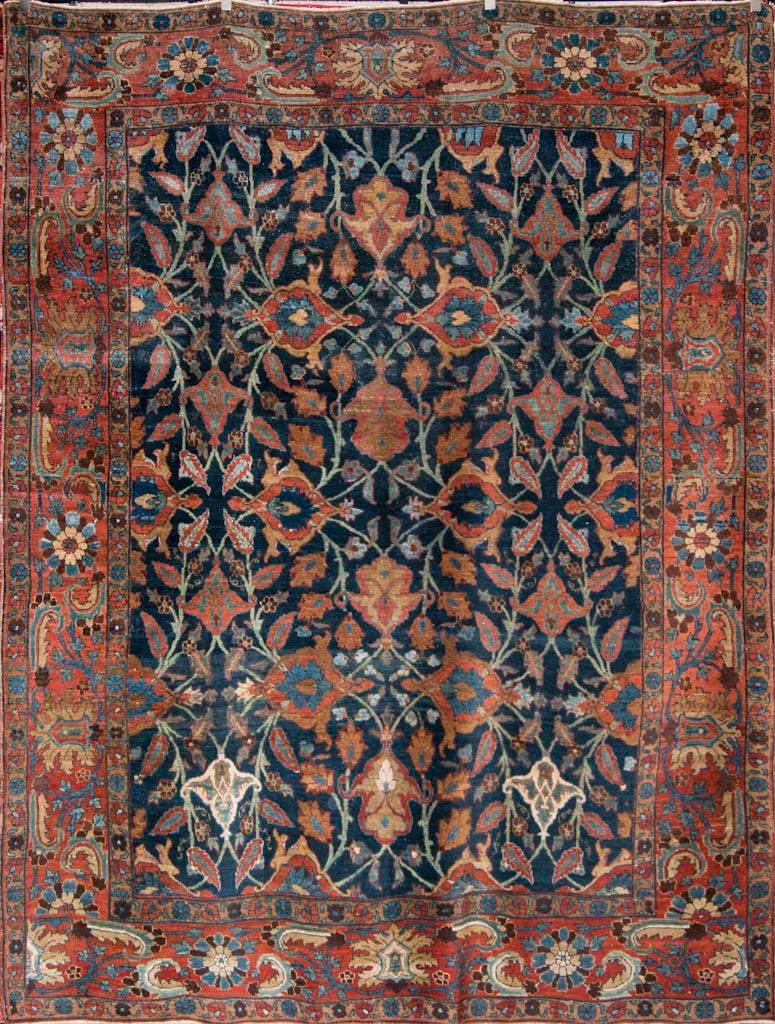 heriz rugs rare antique bakhshayesh heriz rug EARPKDJ