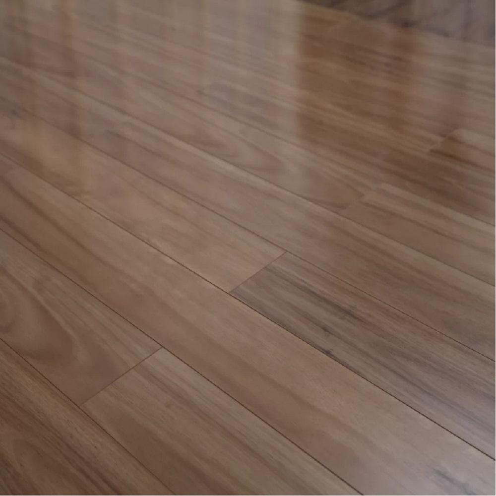 high gloss laminate flooring golden eucalyptus 12mm thick x 5 in. wide x 48 in. length click- WJLIUQH
