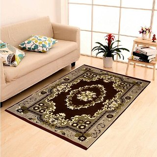 home castle exclusive cotton jacquard designer carpet for living room (4.5  feet ZSJTXRL