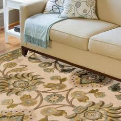 home rugs artistic weavers lauren ivory viscose and chenille 9 ft. x 12 ft. area NLQBSFO