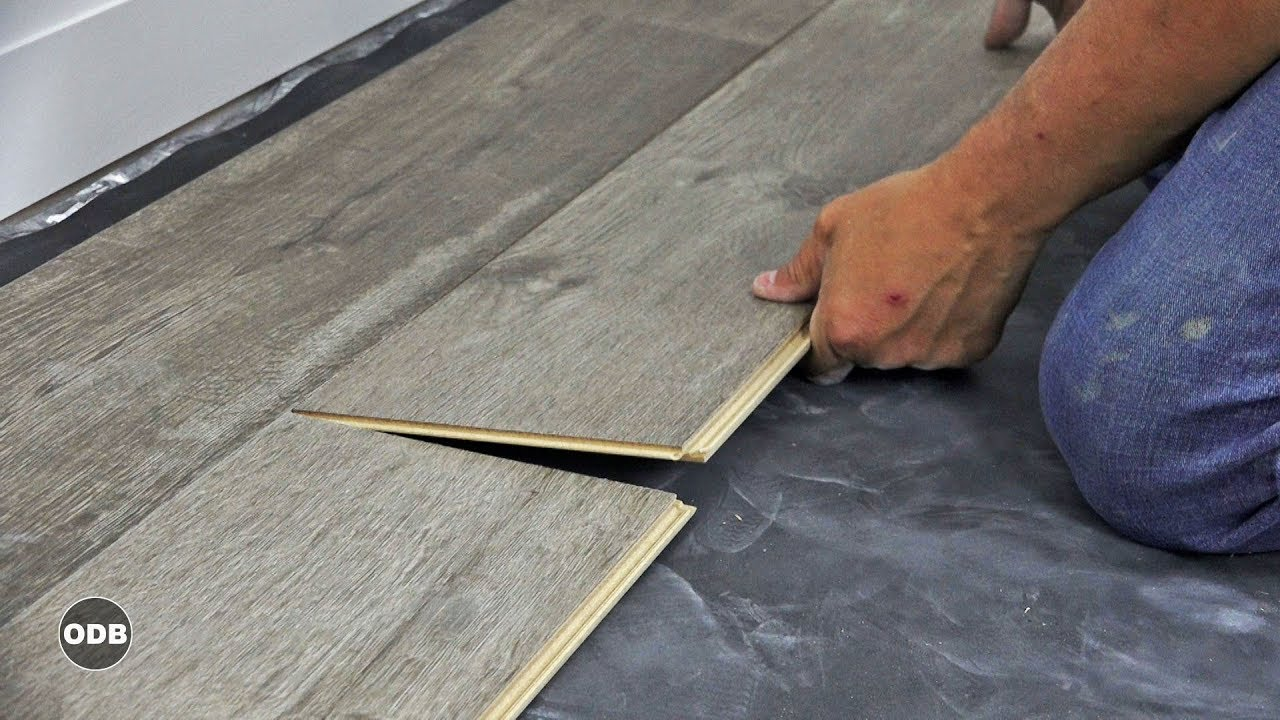 how to install laminate plank flooring YGDMURV