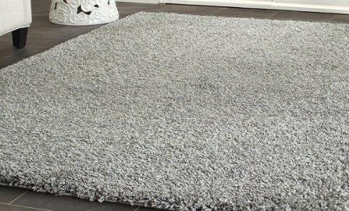huge rug huge shag rug blowout sale 8u0027 x 10u0027 gray cozy solid shag rug, NAQYXYD