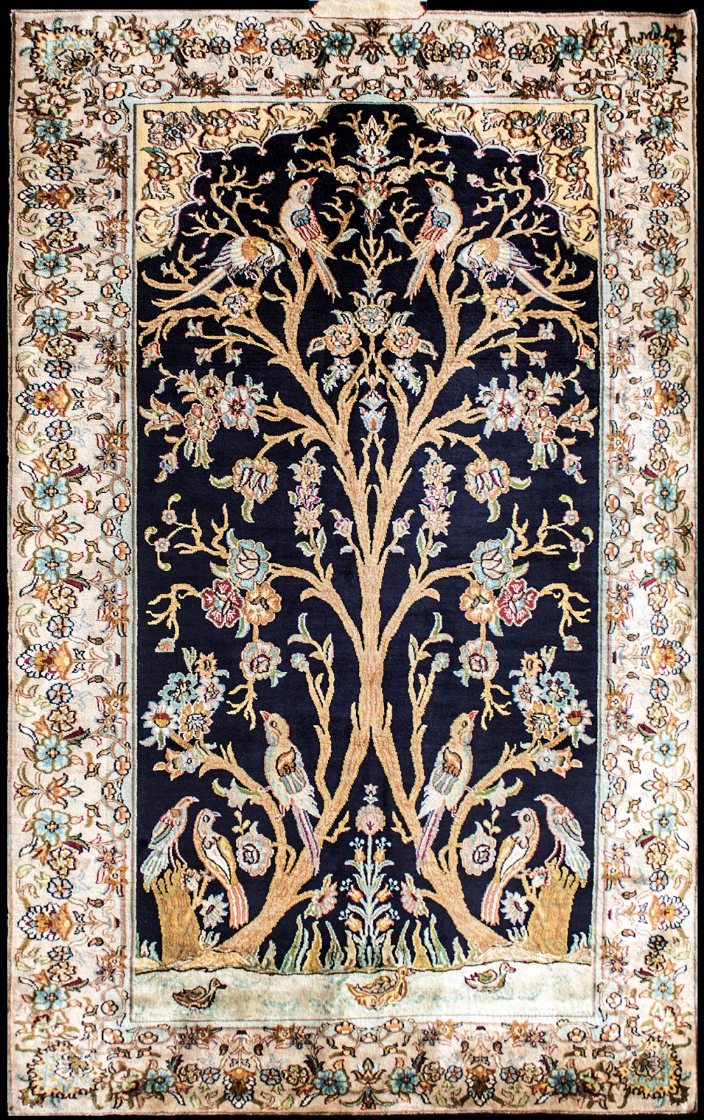 indian handmade carpets and rugs in wool and silk ZFBGKNN