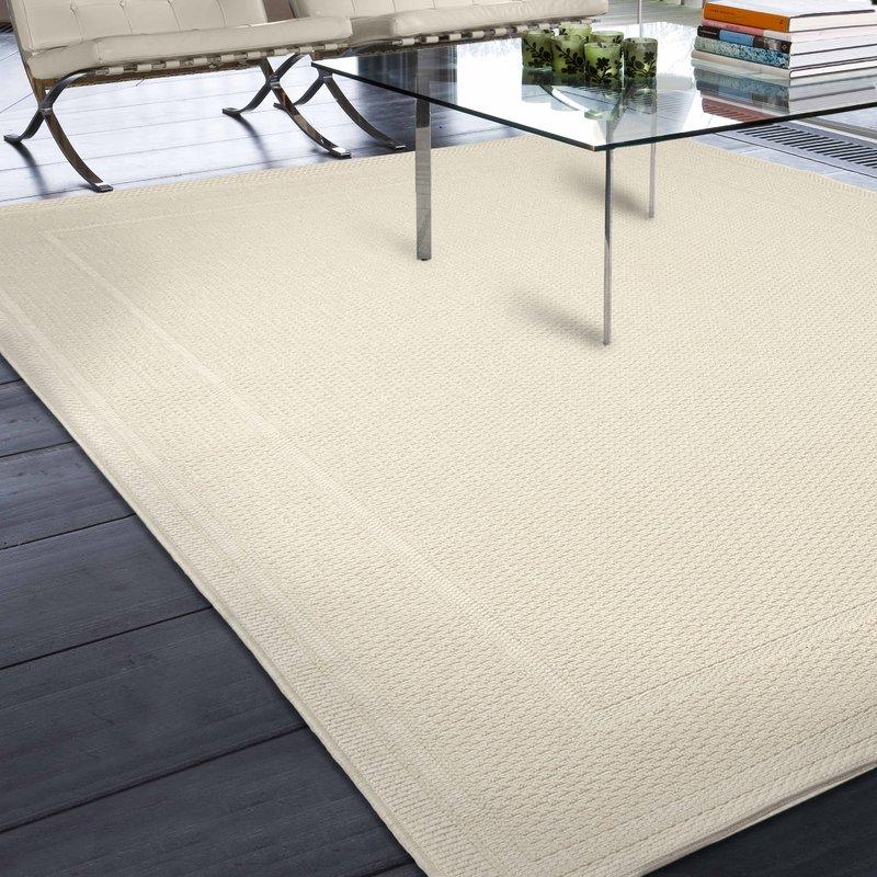 indoor outdoor area rugs acton ivory solid indoor/outdoor area rug XYFOZCN