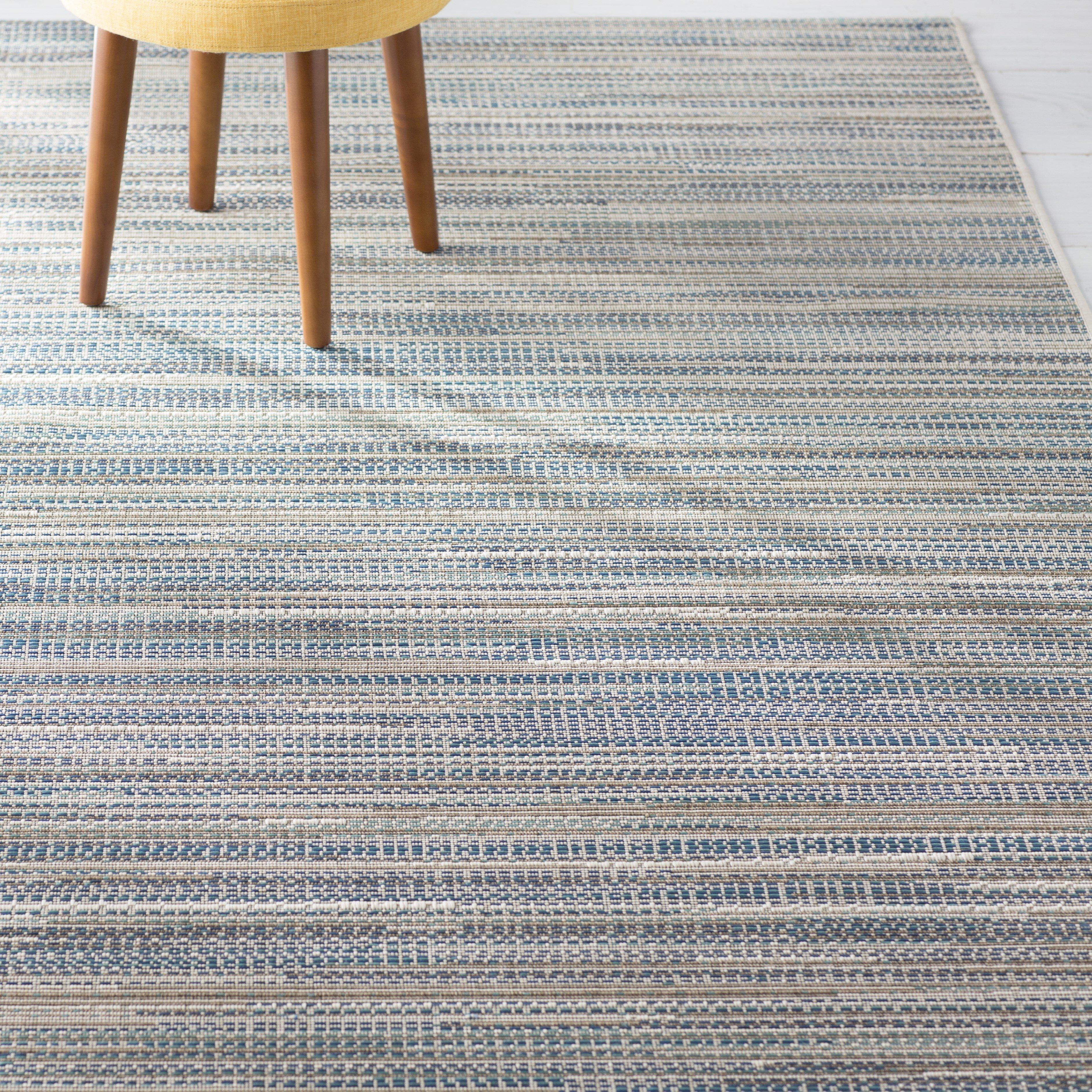 indoor outdoor area rugs beachcrest home jasmine estates sand/turquoise indoor/outdoor area rug u0026  reviews | wayfair KSRBNYP