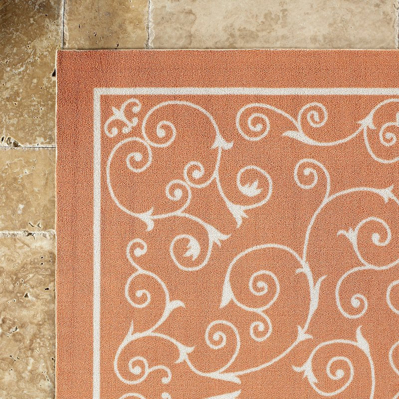 indoor outdoor area rugs oscar orange indoor/outdoor area rug MXDAIKC