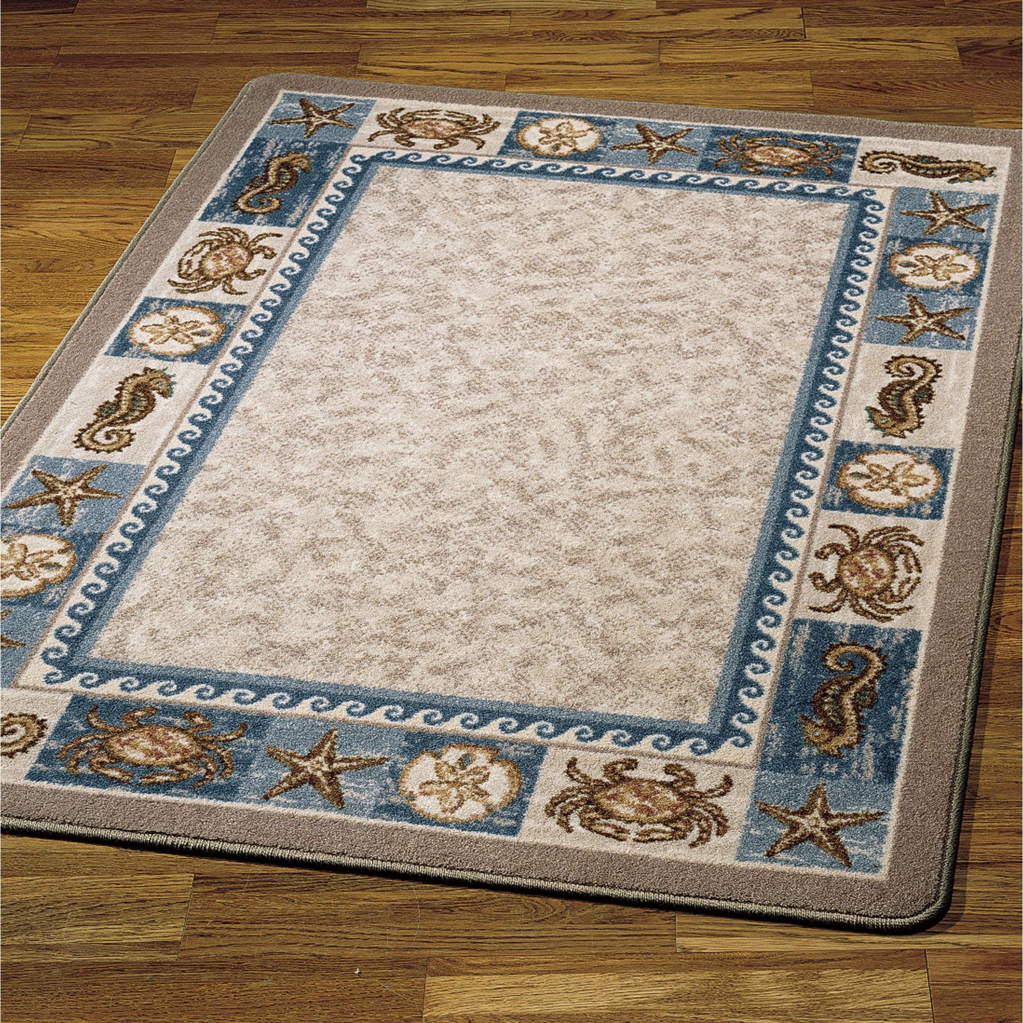 indoor rugs sea life area rug blue UMVPOIA