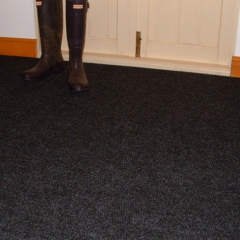 industrial carpet black HSCLXIW